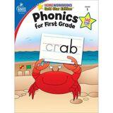 Phonics for First Grade, Grade 1 by Carson-Dellosa Publishing