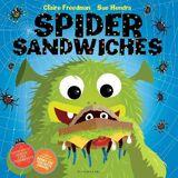 Spider Sandwiches by Claire Freedman