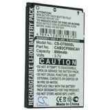 Alcatel One Touch 808 batteri (800 mAh)