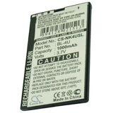 Nokia 5530 batteri (1000 mAh)