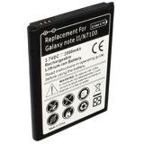 Samsung Batteri (3500 mAh, Sort) passende for Samsung GT-N7108S Galaxy Note 2