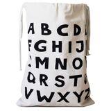 Tellkiddo Oppbevaringspose Tekstil ABC