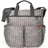 Skip Hop Duo Signature Diaper Bag Grey Feathers