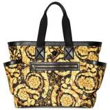 Versace Gold Baroque All Over Print Changing Bag