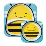Skip Hop Zoo Plates Bee