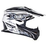 Suomy Rumble Vision Motocross hjelm Sølv L