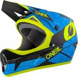 Oneal Sonus Deft Downhill hjelm Svart Gul S