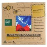 Bee Wrappy Beeswax Food Wraps - 2 x Small