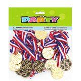 24 stk Medaljer med Bånd