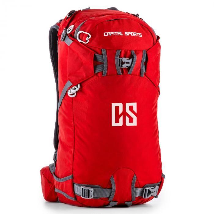 capital sports cs 30 red mochila desporto lazer