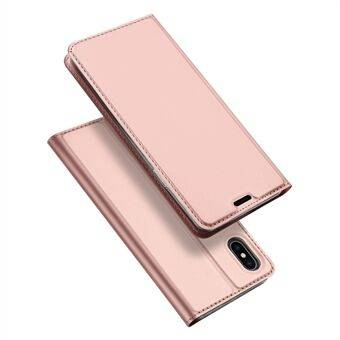 Apple DUX DUCIS Skin Pro Series Card Slot Stand Leather Mobile Cover för iPhone XS Max 6,5 tum