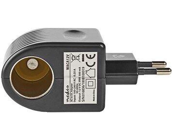Nedis Power Socket Car Adapter