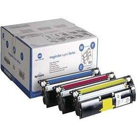 Konica Minolta 1710595-001 - Konicaminolta Rainbow Kit toner 3X 4.500 sidor