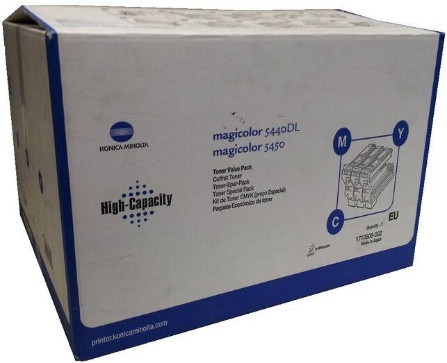 Konica Minolta 1710606-002 - Konicaminolta Rainbow Kit toner 12.000 sidor X3