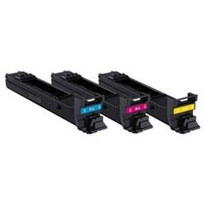Konica Minolta A06VJ52 - Konicaminolta Value Kit Incl. C/M/Y toners 6.000 X 3 sidor