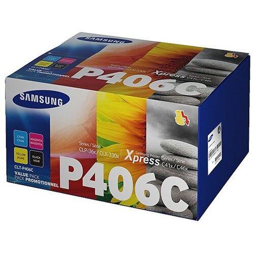 Samsung CLT-P406C - Samsung Rainbow Toner Kit CMYK