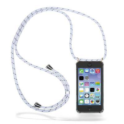 Apple CoveredGear Necklace Case iPhone 11 Pro - White Stripes Cord