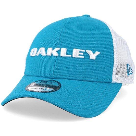 Oakley Keps Heather Atomic Blue Trucker - Oakley - Blå Reglerbar