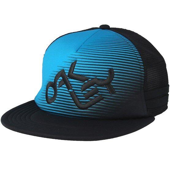 Oakley Keps Novelty Logo Atomic Blue/Black Trucker - Oakley - Blå Trucker