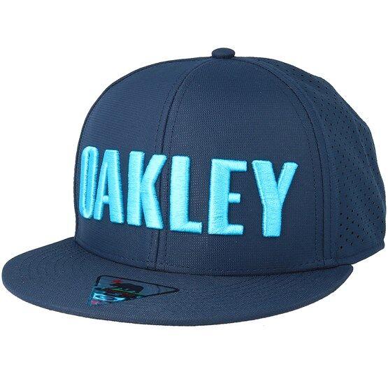 Oakley Keps Perf Atomic Blue Snapback - Oakley - Blå Snapback