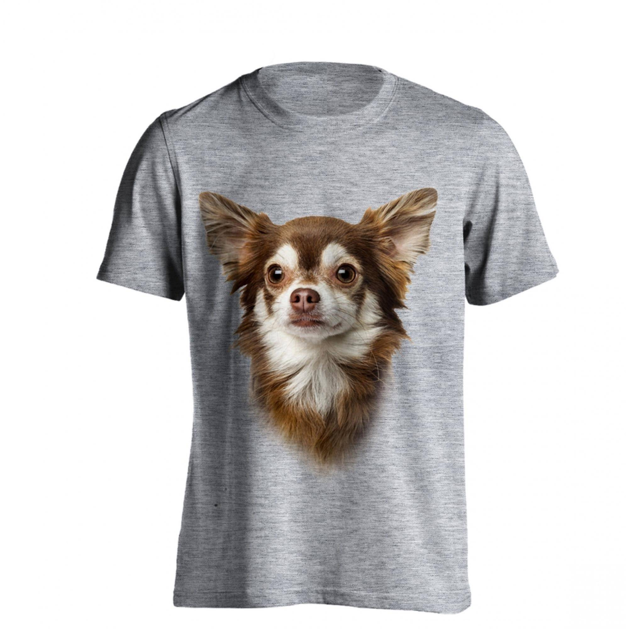 The T-Shirt Factory T-Shirt fabriken Mens Chihuahua hund T-Shirt