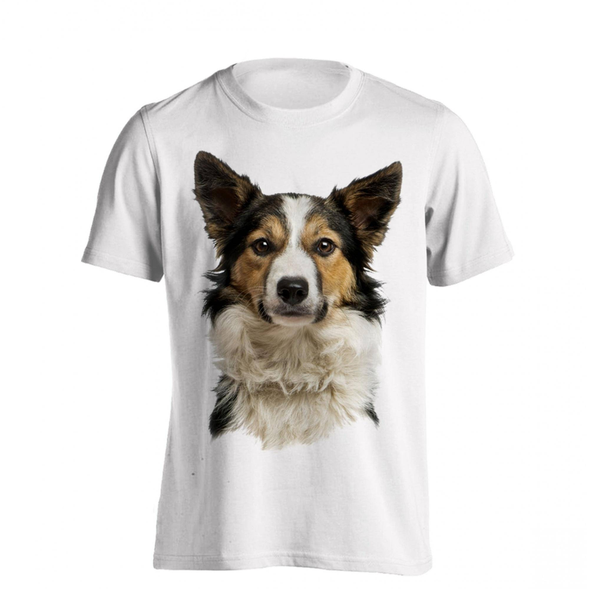 The T-Shirt Factory T-Shirt fabriken Mens bordercollie hund T-Shirt