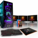 Fierce PC Fierce GOBBLER gaming PC, Intel Core i5 7400 3.5 GHz, 240...