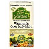 Nature's Plus Naturer Plus källa av liv trädgård Womens en gång daglig Multi (30 ...