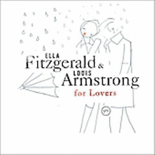 VERVE Fitzgerald/Armstrong - Ella & Louis för älskare [CD] USA import