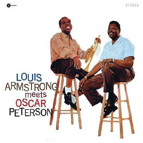 PID Louis Armstrong - möter Oscar Peterson [Vinyl] USA import