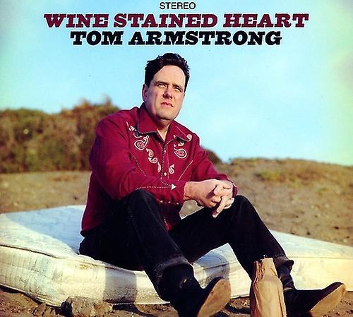 CD BABY.COM/INDYS Tom Armstrong - vin färgas hjärtat [CD] USA import