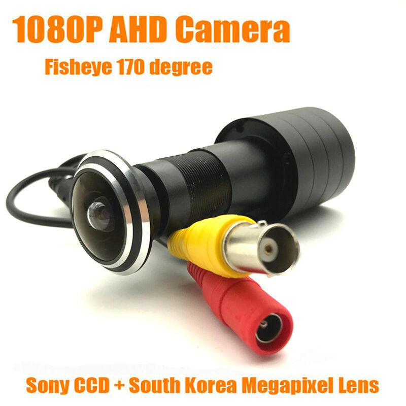 1080P 2MP HD Indoor Door Eye Peephole Color AHD Home Security Camera SONY IMX323 StarLight 0.001 Fish Eye Surveillance Camera