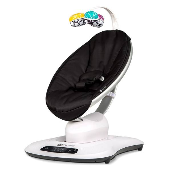 Babysitter mamaRoo 4.0, Svart, 4Moms