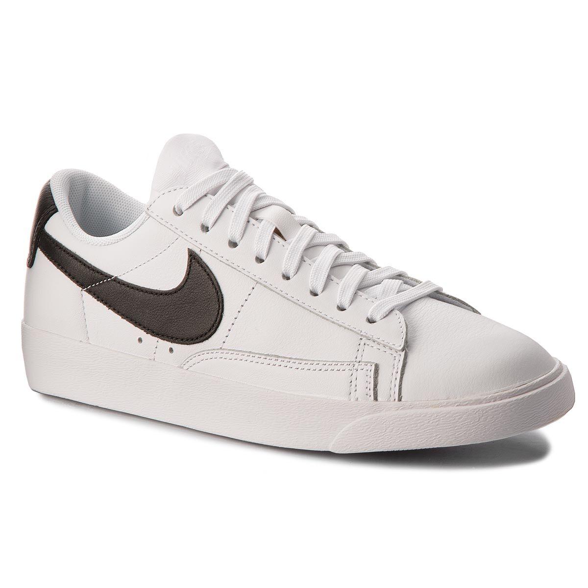 buy online aa22f dd08a NIKE Skor NIKE - Blazer Low Le AA3961 111 White Black