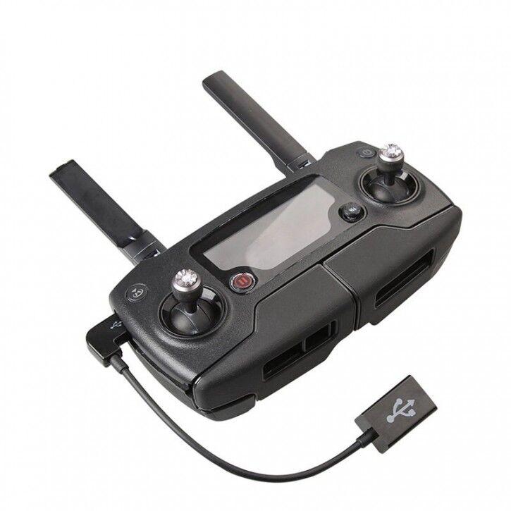 AK Adapter / Datakabel USB OTG för iPhone/Android till DJI Mavic 2 Pro/Zoom / Mavic Pro / Mavic Air / Spark fjärrkontroll