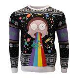 Numskull Jultröja - Rick And Morty: Morty Rainbow (2XL)
