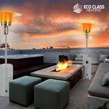 InnovaGoods Terrassvärmare med gas Eco Class Heaters GH 12000W