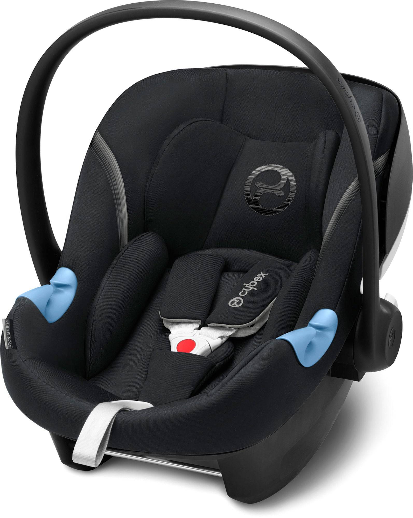 Cybex Aton M i-Size Babyskydd, Lavastone Black
