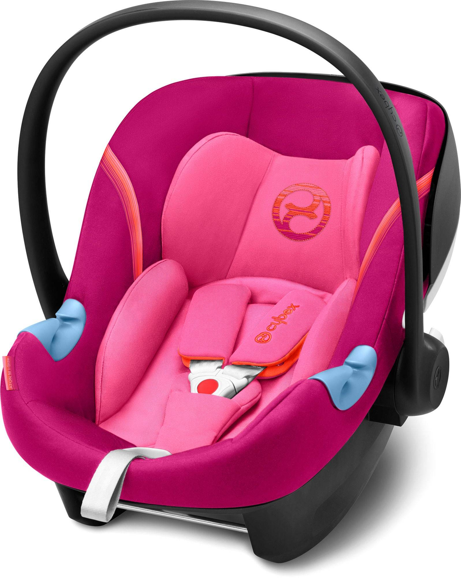 Cybex Aton M i-Size Babyskydd, Passion Pink