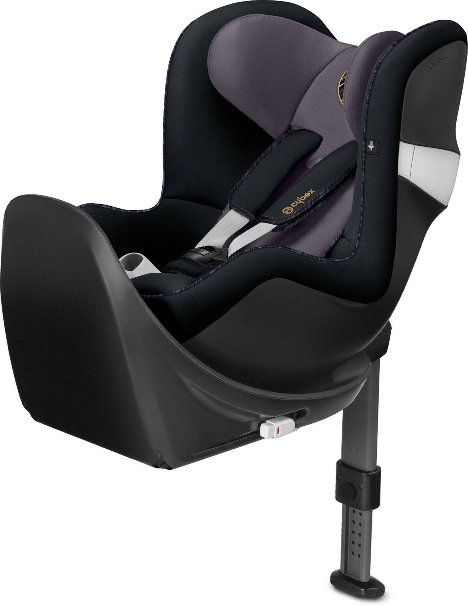 Cybex Sirona M2 i-Size Bilbarnstol inkl. Bas, Premium Black