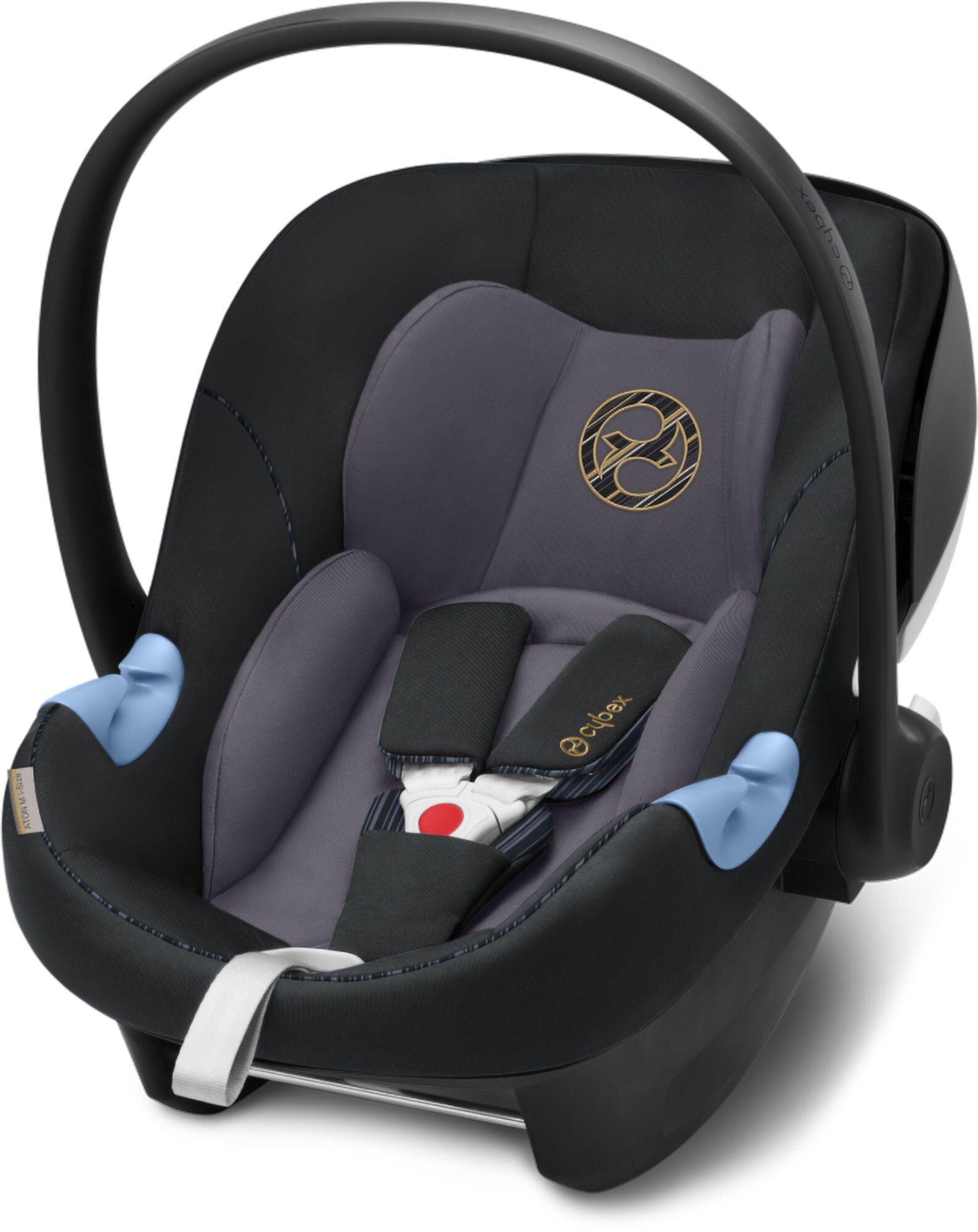 Cybex Aton M i-Size, Premium Black