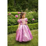 Den Goda Fen Utklädnad Prinsessklänning Rapunzel, Lila L