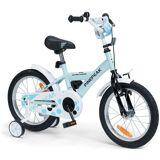 Pinepeak Cykel 16 tum, Vit/Blå