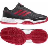 Adidas Barricade Club JR Tennisskor, Black 36 2/3