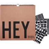 Design Letters Väggkalender 2020, Camel