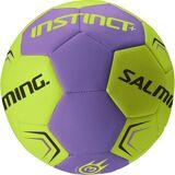 Salming Instinct Plus Handboll, Purple/Yellow Size 1