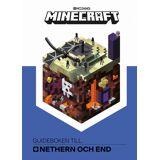 Egmont Kärnan Kärnan Minecraft Guideboken Till Nethern Och End