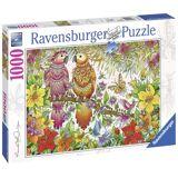 Ravensburger Pussel Tropiska Fåglar 1000 Bitar
