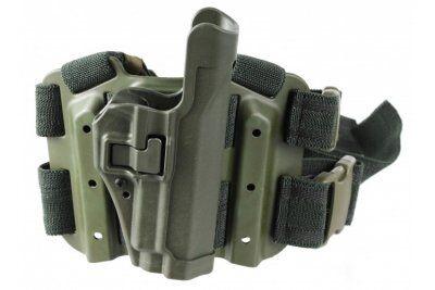 Blackhawk SERPA® Level 2 Tactical Holster M92 OD Vänster