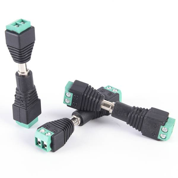 Unbranded 5x dc 12v male female power supply plug adapter connector